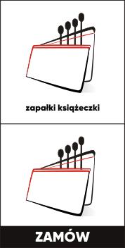 Zapałki reklamowe - książeczki