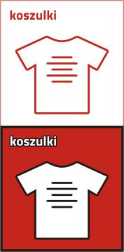 Koszulka comfort z nadrukiem 1 kolor